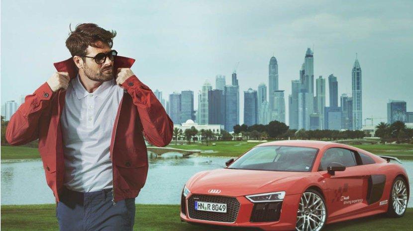 Photoshoot, Audi, Audi R8, Esquire video, Video, Behind the scenes video, Esquire behind the scenes, Esquire Audi