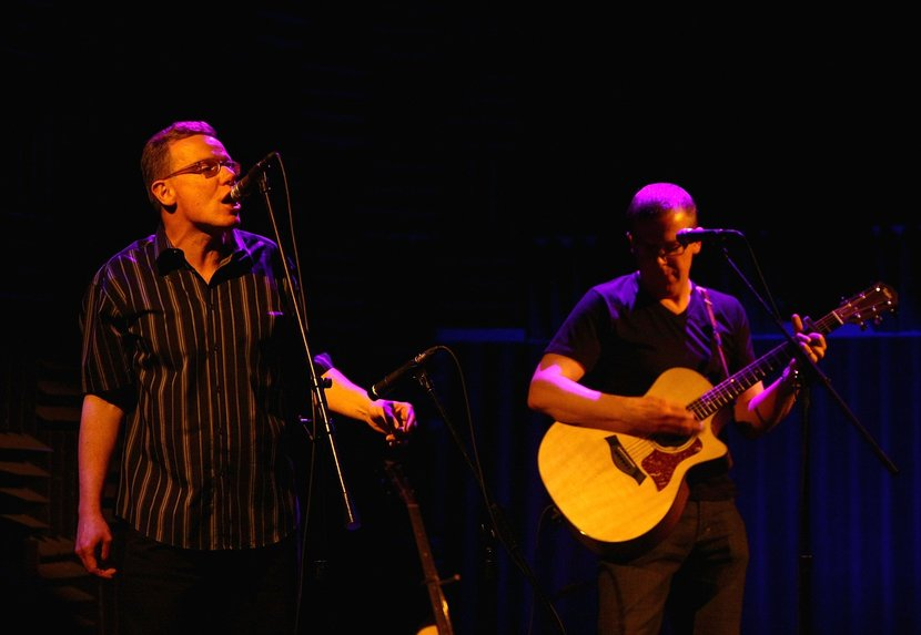 Musicians and twin brothers Craig Reid and Charlie Reid of The Proclaimers