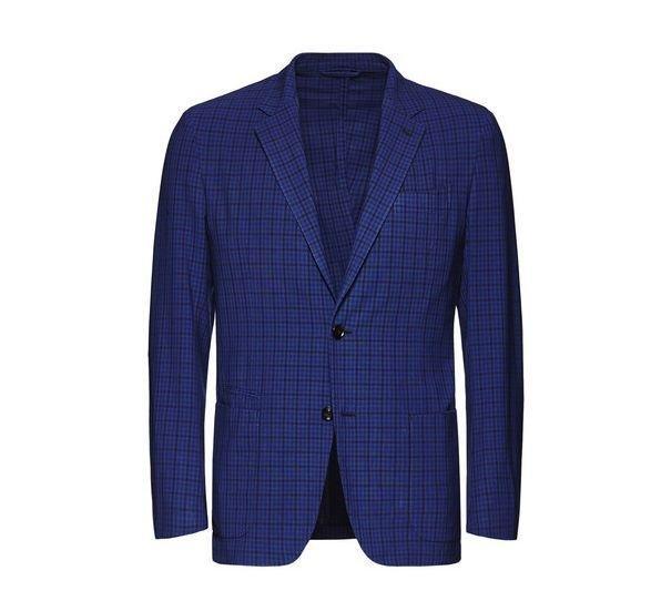 Indigo high-performance blazer (Dhs8,000)