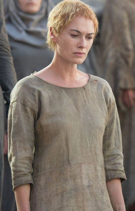 7. Cersei Lannister - It's hard to know how much to hate Cersi, which is a testament not only to the show's writing but Lena Headey's nuanced performance as the conniving Queen regent whose agenda you can never quite read. We've felt just about everything towards Cersi at some point - from anger to pity to fear - which probably speaks for itself.