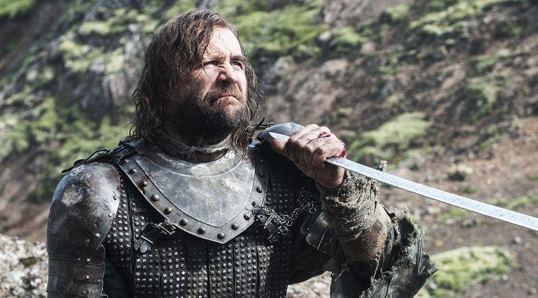 4. The Hound - Has there been a more poignant death than Sandor Clegane's pitiful rage against the dying light at the end of season 4? We doubt it. The big man had one-liners as brutal as his broadsword and just enough heart peeking through the armour to mean you cared. There is no character we miss more.