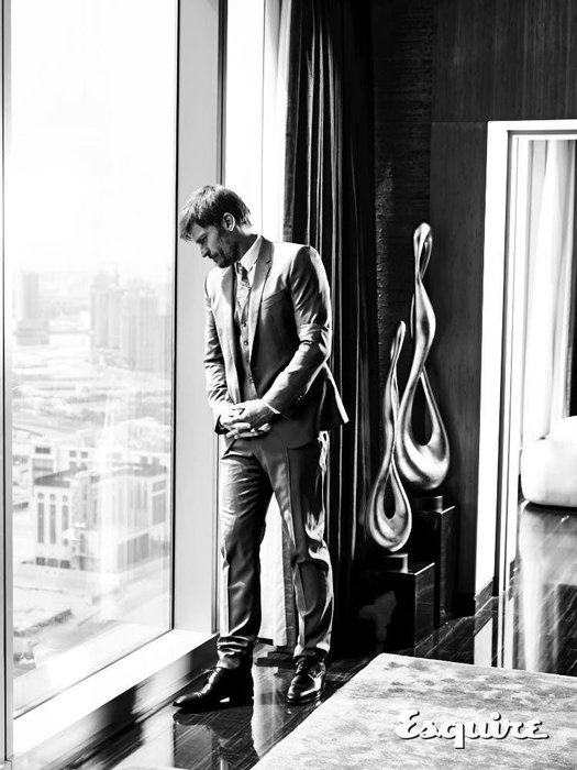 Wearing a three-piece suit, dhs8,250; shirt, dhs1,100; tie, dhs650, all Dolce & Gabbana from Harvey Nichols Dubai. Shoes, Dhs5,355, Christian Louboutin