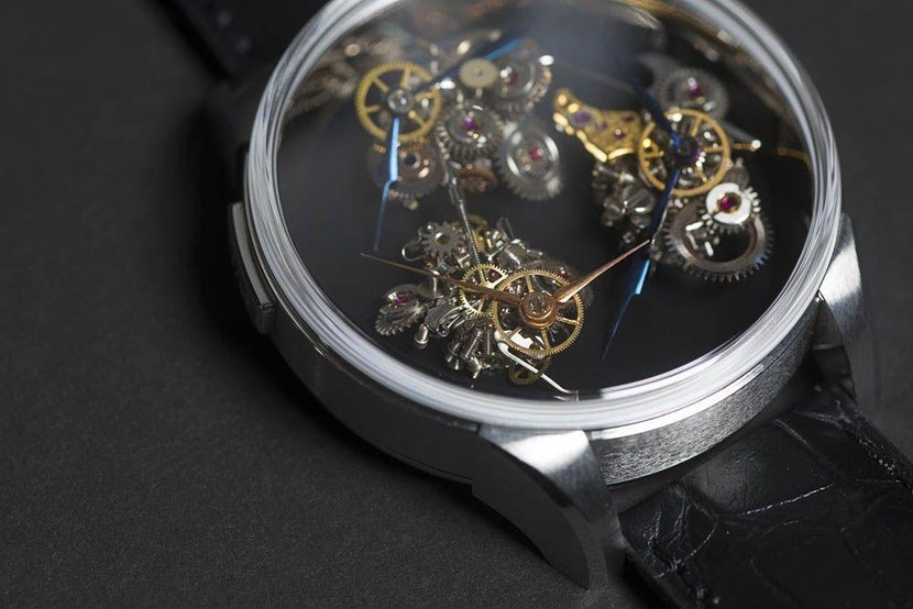 Carnaille's 'timeless watch'