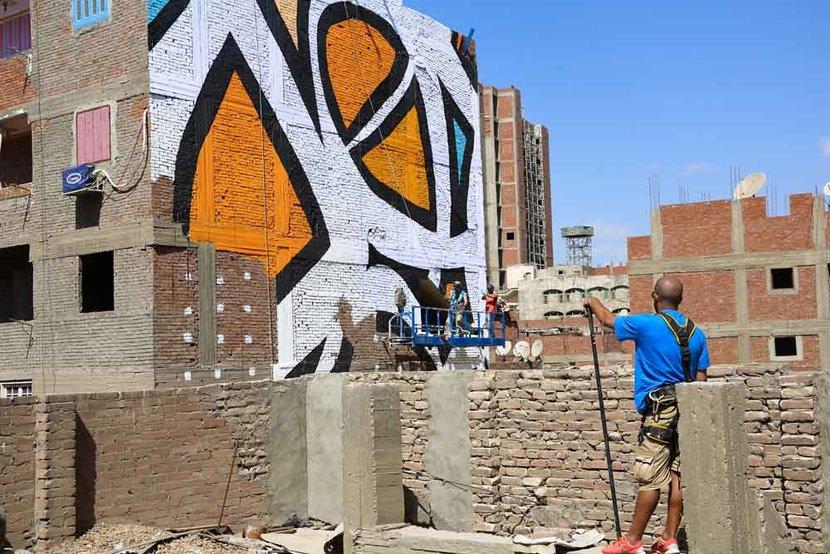 El seed artist, El seed perception, El seed egypt, El seed cairo, Calligraffiti