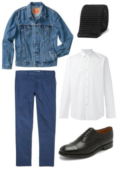 DRESSED DOWN -  Embrace the jacket's rock-and-roll heritage by wearing it with slim black jeans, a pair of (modernized) combat boots, and a white tee. Simple and easy—just like a great casual look should be.