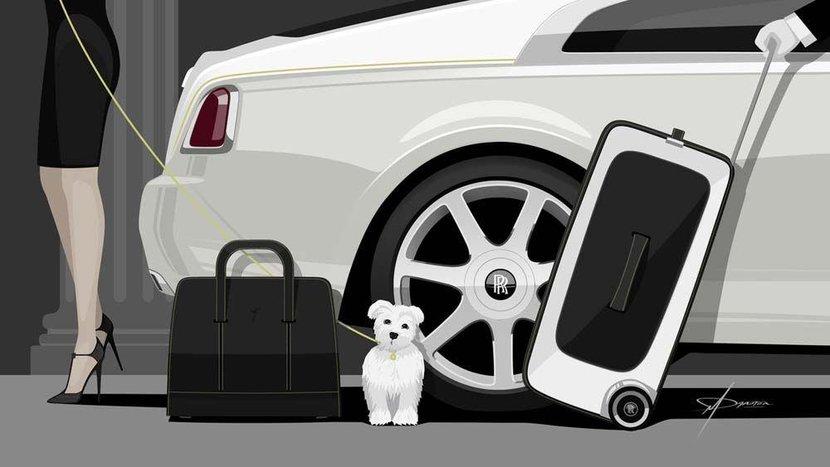 Rolls Royce luggage, Rolls Royce, Wraith Luggage Collection, Rolls royce wraith, Rolls royce wraith luggage