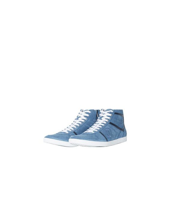 The Kooples sneakers - Blue suede shoes for the modern man (Dhs1,299)