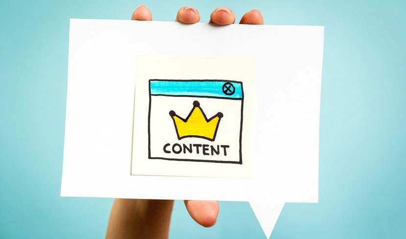 Content, Online content, Too much online content, Content is king, Content is not king