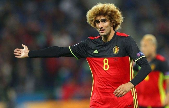 Marouane Fellaini  (Belgium)  -  Like if your aunt won it big on a scratch card and decided to treat herself.