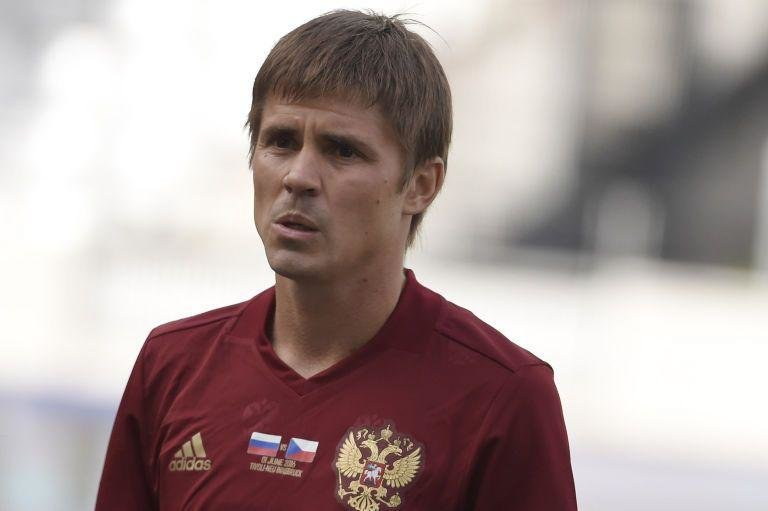 Dimitri Torbinsky (Russia)  -  The Russians aren't known for great haircuts but this one from defender Dmitri Torbinsky is straight from the Jim Carey Dumb and Dumber lookbook.