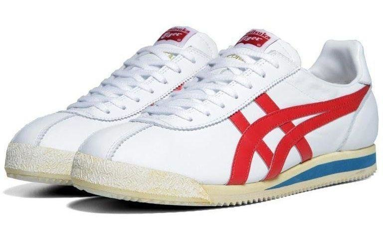 Onitsuka Tiger Corsair  -  The godfather of the modern running shoe, the Onitsuka Tiger Corsair was the original template used by Bill Bowerman and Phil Knight, the founders of a little brand called Nike. They jazzed it up a bit, turned it into the Nike Cortez, and thus began an empire. So you could say that the Corsair has a bit of pedigree behind it.