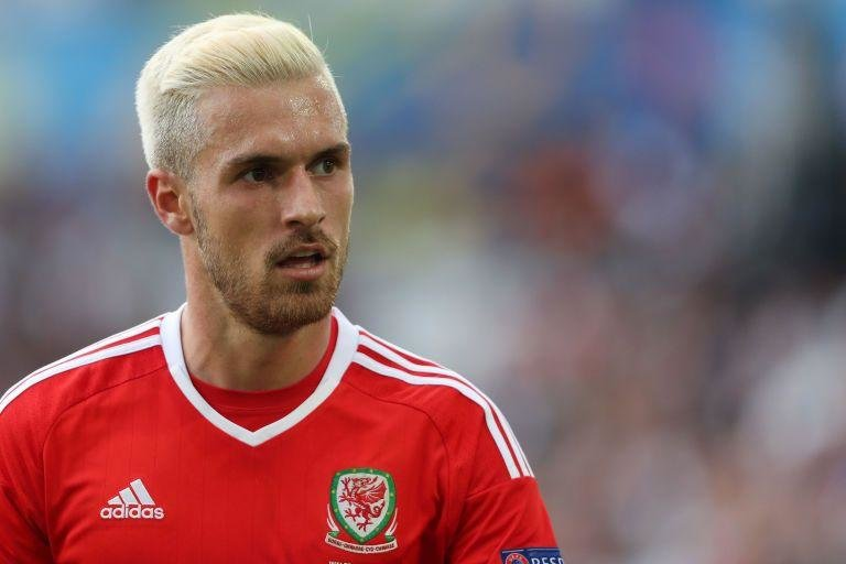 Aaron Ramsey (Wales)  -  The midfielded has gone for the gently blowdried, PG13 Eminem look for this tournament. Stylish.