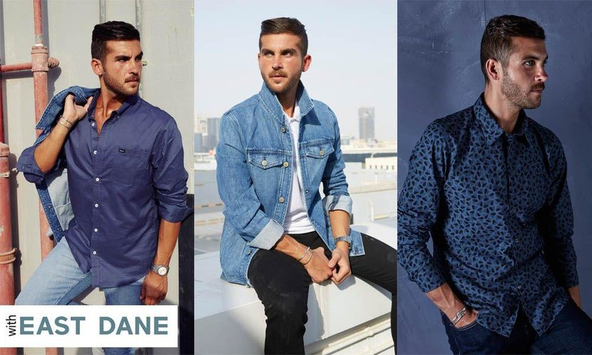 East dane, East dane denim, Eastdane.com, Ways to wear denim, Men denim, Male denim, Denim style