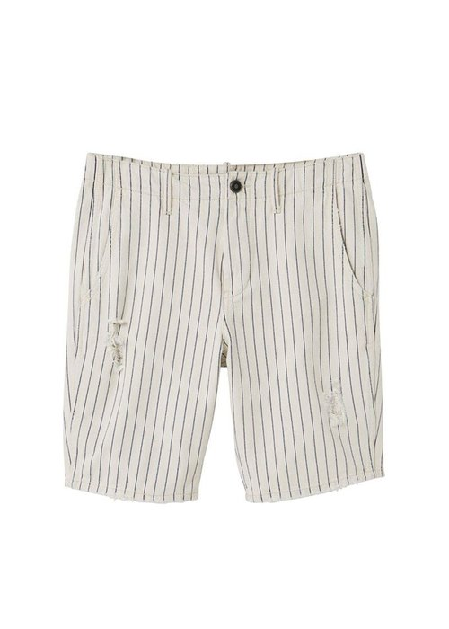 Mango Shorts - Dress down, pin-striped shorts that you will only be able to get away with this summer. Dhs219