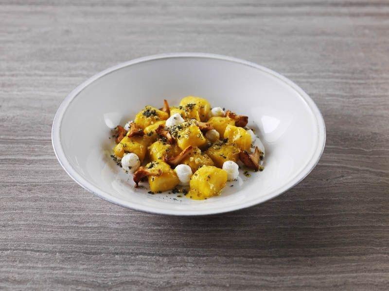 Marina Social's potato gnocchi with girolle, parmesan & sage