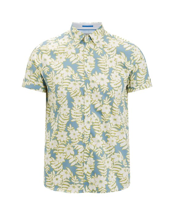 Ted Baker Shirt - Short sleeves. Floral. Ted Baker. Is there anything more summer-appropriate? Nope. Dhs465