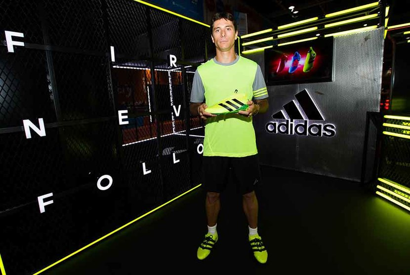 Football, Adidas, Speed of light, Dubai Sports World
