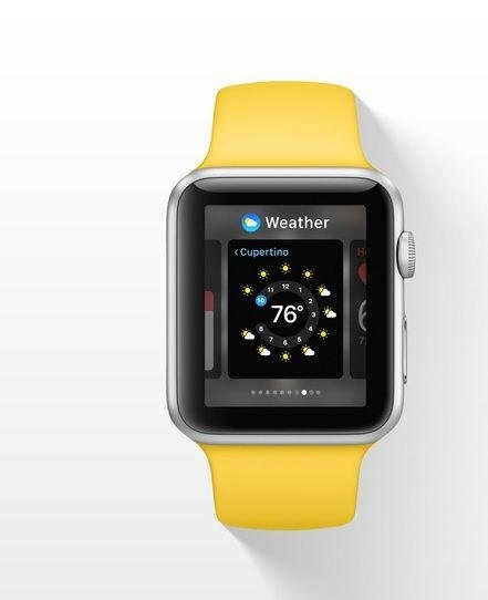 9. Check the weather: Stay up-to-date with the weather forecast directly from your wrist, so you can plan your day accordingly and dress appropriately.