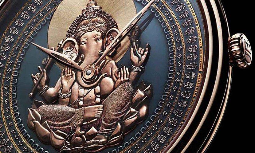 Steampunk watch, Art watches, Genta tourbillon, Art Piece 1, Ganesha Blancpain