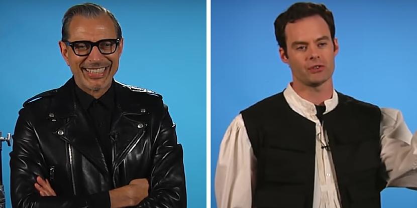 Jeff Goldblum Esquire, Bill Hader Han Solo, Han Solo auditions, Funny auditions, Who auditioned for Han Solo
