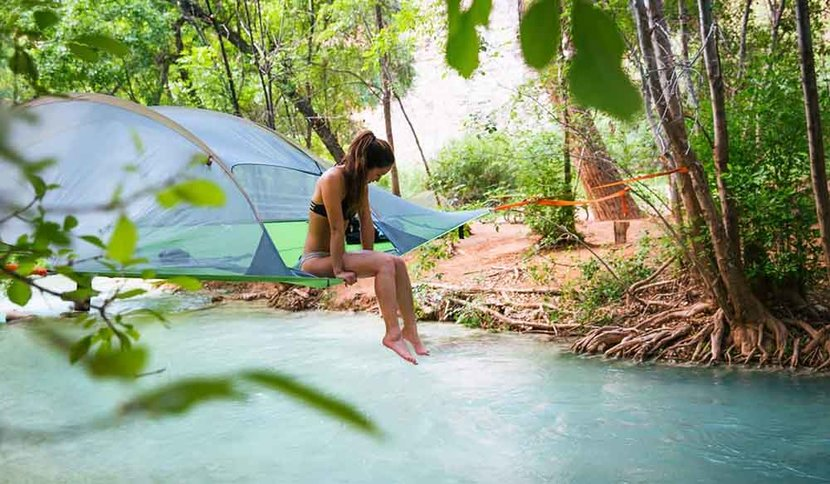 Tentsile, Camping, Suspended Tents, Eco-friendly, Ewoks, Tentsile tents, Camping dubai, Camping uae, Cool tents