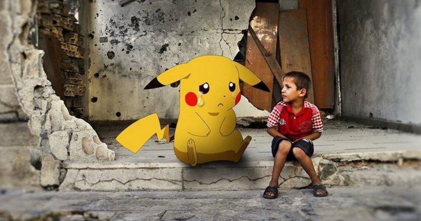 Pokemon Go, Pokemon, Pokemon Syria, Refugee pokemon, Syria pokemon