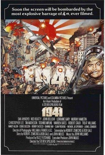 1941 (1979)  -  A screwball folly about an anxious Los Angeles post-Pearl Harbor is not quite the sum of its parts, but those parts include many ambitious set pieces and a fizzing John Belushi.