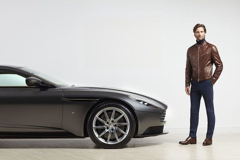 Aston Martin, Hackett, Collaboration, Driving gear, British car, British clothes, Dapper