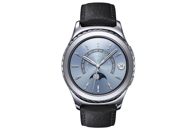 Samsung Gear S2 Classic  -  Samsung's new Gear S2 Classic is one of themore dependable options in a crowded field. Despite the lack of horological heritage, the tech giant has done a fine job of keeping the stainless steel case simple and elegant, while the mind-boggling arrayof functions and apps are navigated through a sleek turning bezel. Samsung boasts that the S2is the first smart watch totake an e-Sim card, allowing youto make calls and send textswithout being connected toamobile phone, which is a big plus compared with its rivals.  Dhs999.  samsung.com