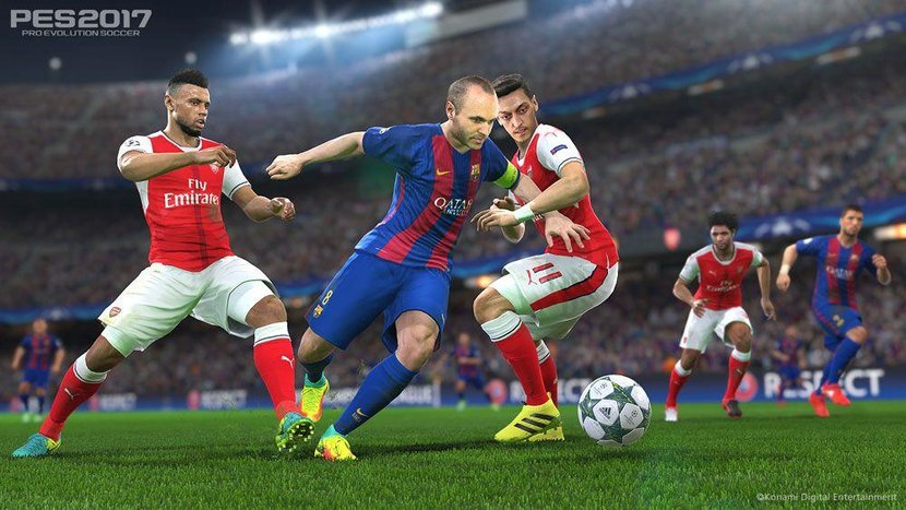 """The Fox Engine has improved vastly since PES 2014 and delivers great realistic player movement and smooth visuals that give FIFA's Frostbite engine a run for its money. New features such as """"Precise Pass"""" and """"Control Reality"""" enable players to have a higher control on the strength and of their passes."""