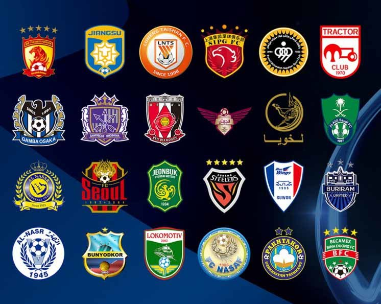 The game features the Asian Champions League competition with top Arabic teams including Al Ain and Al Ahli.