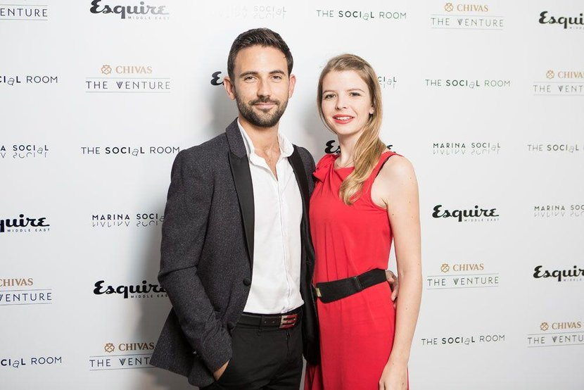 Gregory Giroud and Sonia Couchou-Meillot