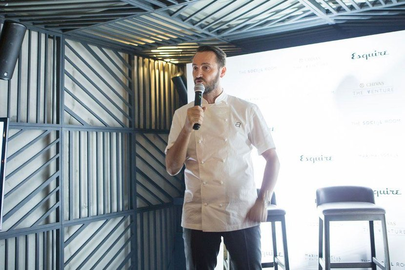 A welcoming speech from Michelin-starred chef, Jason Atherron
