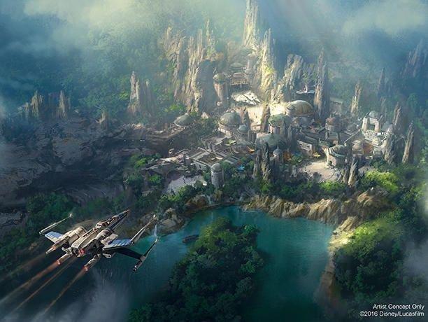 Star wars, Star Wars Land, Disney, Theme parks