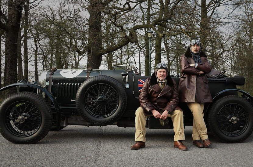 Dunhill, Mud Club, Bentley, Flying Scotsman, Alfred Dunhill, Vintage car rally