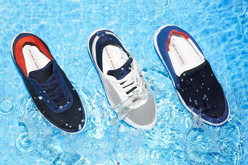 #orlebarbrown, #swimwear, #shoes, #footwear, #waterproof, #beach