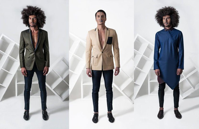 VAROIN MARWAH - The Dubai-based fashion designer taps into his Indian heritage to present his signature style of imperial-inspired menswear this season. For his debut menswear show at FFWD, Marwah's roots guide him to a collection that features creative, clean lines, contemporary silhouettes and an eye-catching attention to detail.