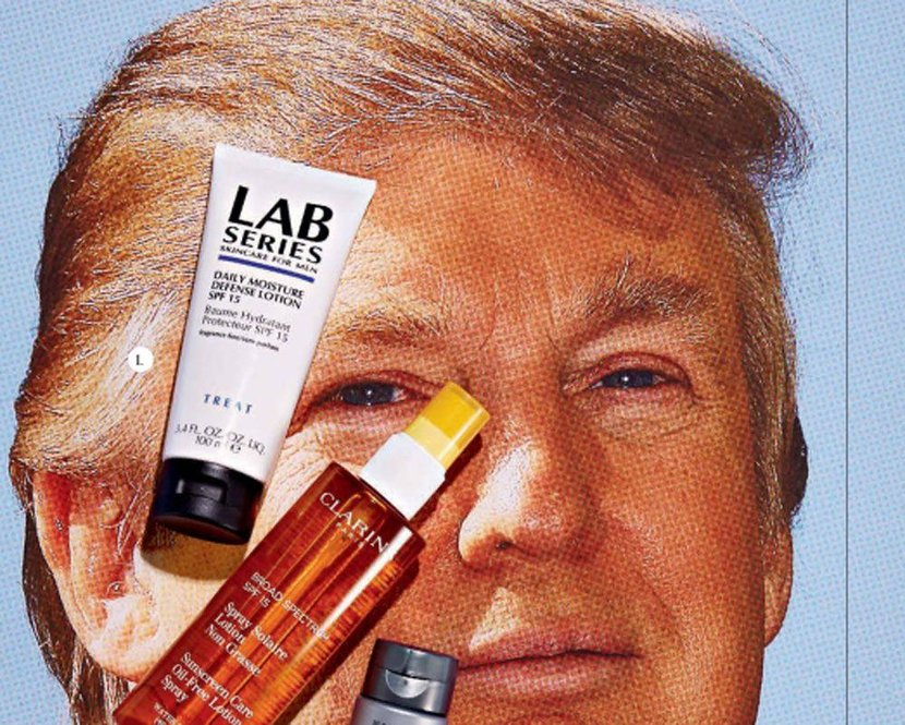 Suncream, Sunscreen, Men, Cream, Grooming, Male grooming, Male, Men's suncream, Men's sunscreen, Dubai, UAE, Clarins, Lab Series, Donald Trump