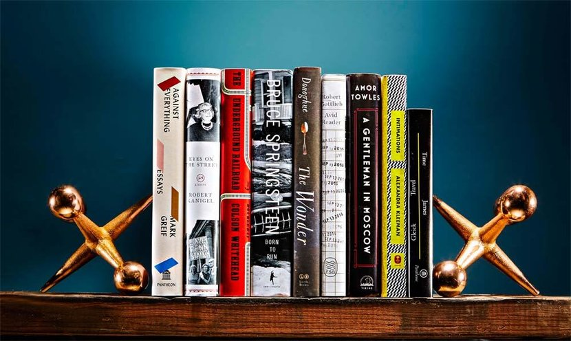 Books, Men, Springsteen, Born to run, Fundamentals of time travel, New books, Must-read, Colson Whitehead, Against everything, The underground railroad, Avid reader, A gentleman in moscow, The wonder, Time travel