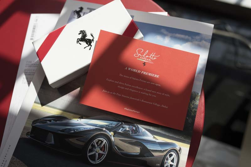 Ferrari, Salotto, Dubai, Four Seasons Resort, Ferrari UAE, UAE
