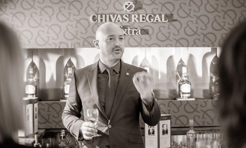 Maximilian Warner, Global Ambassador of Chivas Regal
