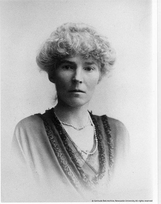 Gertrude Bell, 1921, © Gertrude Bell Archive, Newcastle University.