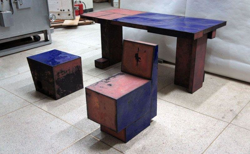 Kwangho Lee - Enameled Skin Copper Series