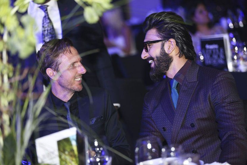 Esquire's Jeremy Lawrence and Ranveer Singh