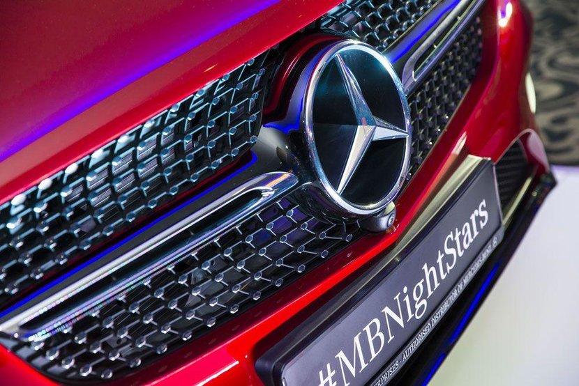 Headline sponsors Mercedes-Benz