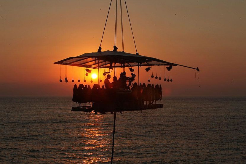Dining in the Sky, Habtoor Grand, Restaurants, Dubai, UAE, Quirky restaurants, Unusual dining, Best places for dinner, Pop-up