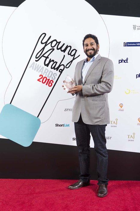 Innovation Award - CEO Hult Prize Foundation, Ahmad Ashkar