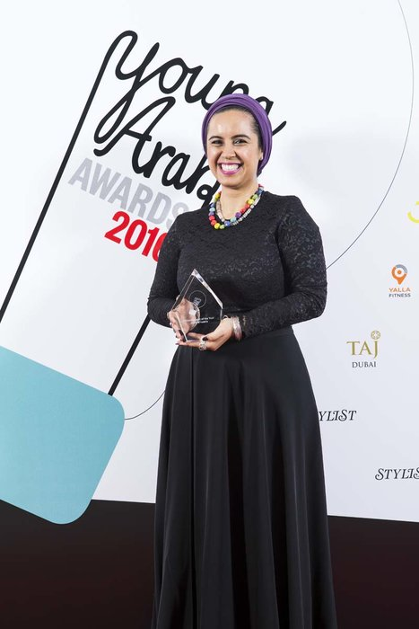 Philanthropy Award - Founder of Mnasria Jewlz, Jihad M'Nasria