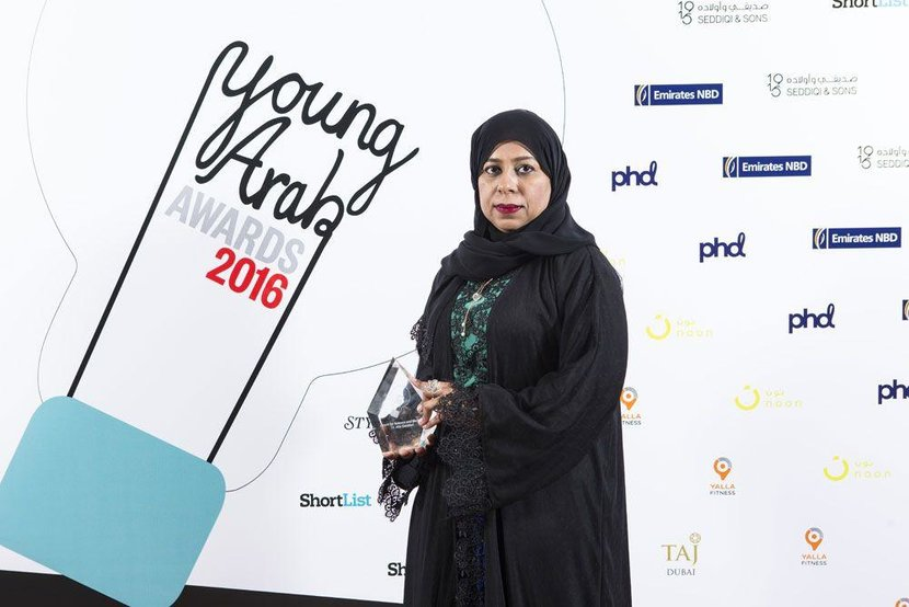 Science and medicine Award - Dr Alia Galadari