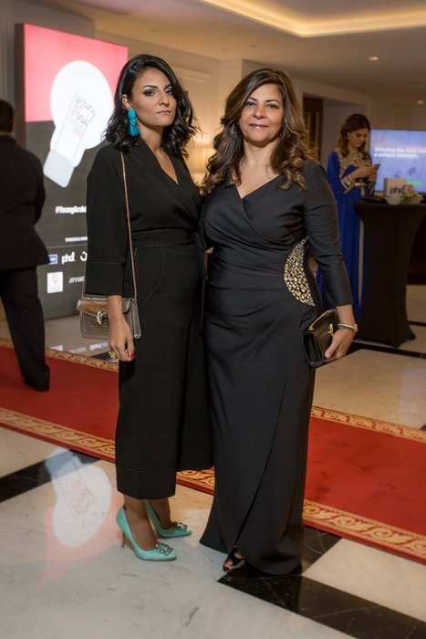 Yasmin Farahmandy and Hala Basray
